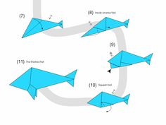 Origami Instructions For Kids Origami Instructions Bulldog Make Origami Easy Instructions For Kids. Origami Instructions For Kids Easy Origami Crane I. Origami Fox Easy, Easy Origami Dragon, Origami Shark, Origami Parrot, Easy Origami For Kids, Origami Frog, Origami Folding, Useful Origami, Simple Origami