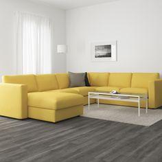 Um sofá com atitude.