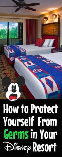 What Can Make You Sick in a Disney World Hotel Room | Stay Healthy on a Disney vacation | tips for Disney World #disney #disneytips #disneyworld
