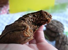 Giant Triple Chocolate Biscuits