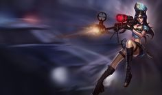 Caitlyn - Skin Agent #caitlyn #skin #agent #jeuvidéo #league #of #legends