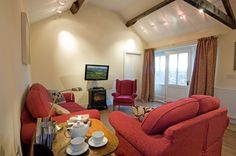 Sheep pen enjoys open plan lounge with colour TV/DVD and music centre