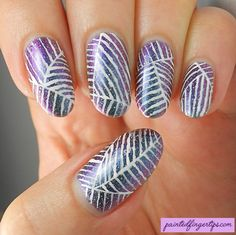 31DC2016 Day 12: Stripes - Painted Fingertips