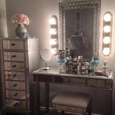 in love. Vanity/ makeup table