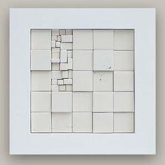 Abstract Sculpture, Sculpture Art, Mosaic Tiles, Tiling, Art Cube, Concrete Art, 3d Wall Art, Beauty Art, Wall Sculptures