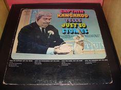 Captain Kangaroo Tells Just So Stories Vinyl Record Poor Condition SPC-3178