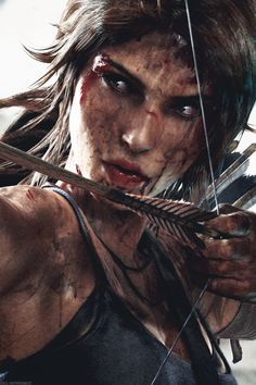 Tomb Raider Laura Croft: Gritty-no literally she is very dirty Character Inspiration, Character Art, Tom Raider, Tomb Raider 2018, Lara Croft Cosplay, Tomb Raider Lara Croft, Rise Of The Tomb, Mileena, Warrior Girl