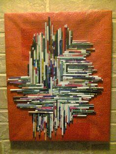 Adriana  Hobby: Obiecte decorative din materiale reciclabile