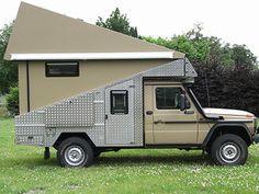 fold down pickup cmaper Land Rover Defender, Defender Camper, Pickup Camping, Truck Camping, Pop Top Camper, Mini Camper, Truck Bed Camper, Off Road Camper, Camper Van