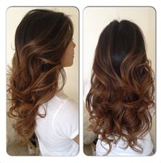 This is the most perfect brown/caramel balayage I have ever seen!!! Pierre Haddad Hair Management in Sydney AUS