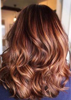 Auburn Hair Color For Autumn Hair Hair color auburn hair color ideas - Hair Color Ideas Fall Hair Colors, Ombre Hair Color, Hair Color Balayage, Brown Hair Colors, Autumn Hair Color Auburn, Autumn Colours, Hair Colours, Brown Ombre Hair, Light Brown Hair