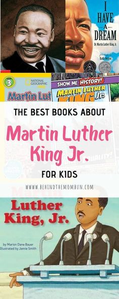 January is the month we set aside to remember a brave man. Help kids learn about his achievements with these books about Martin Luther King Jr. #MLKday #martinlutherkingjr #booksaboutmartinlutherkingjr