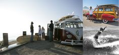 The Woody, VW, & Waves...