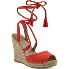 e7c05b97f33 7 Best red espadrille wedges images in 2017 | Red espadrille wedges ...