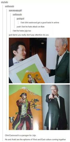 This just in; Clint Eastwood likes JoJo