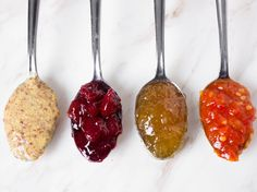 A great condiment pairing elevates the flavor of cheese by contrasting its saltiness with some sugar, bringing out unexpected notes like grassiness or nuttiness, or adding textural complexity to each mouthful. It can help cut a cheese's richness with acidity or spice, or balance its funk and earthiness with sweetness. Here are six diverse condiments to make any cheese plate shine.