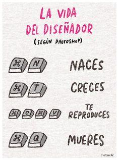 """""""Vida del diseñador"""" by Typewear"""