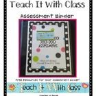 What's in an assessment binder? The answer is EVERYTHING.    I created this assessment binder FREEBIE to share with other educators. It is my hope ...