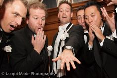 The boys admiring the groom's new wedding ring, photographed by Hampshire wedding photographers Jacqui Marie Photography. VISIT http://jacqui-marie-photography.co.uk for details.