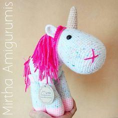 Unicorn 💕  Unicornio #Ecuador #Guayaquil #crochet #amigurumi #unicorn #cute