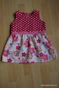 Knoopkleed, luftiges Sommerkleidchen