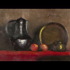 Harambolos Potamianos. Still Life, painting #BuyArtOnline #Expertissim
