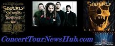 Soulfly 2015 We Sold Our Souls To Metal Tour Schedule & Concert Tickets With Decapitated, Soilwork & Shattered Sun - ConcertTourNewsHub Schedule, Tickets & Artist Info Music Box Theater, Fonda Theater, Music Tours, Concert Tickets, Metal Bands, Rock Music, Schedule, Sun, Artist
