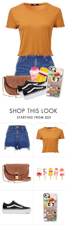 """""""Hot"""" by xonfident ❤ liked on Polyvore featuring River Island, Vans and Casetify"""