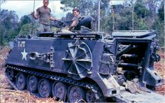 """bmashina: """" - inch) mortar carrier on APC chassis. The war in Vietnam. Vietnam History, Vietnam War Photos, Vietnam Vets, Army Day, Us Army, Military Photos, Military History, Armoured Personnel Carrier, Tank Armor"""