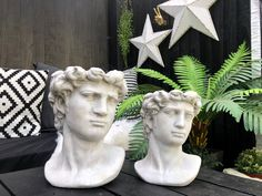 Quirky Decor, Eclectic Decor, Unique Home Decor, Chinese Buddha, Outdoor Planters, Gold Gilding, Outdoor Settings, Sculpture Art, Valentine Gifts