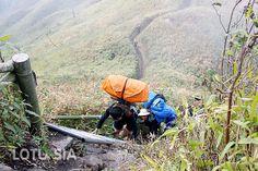 Ascension mont Fansipan est un circuit de trek difficile 2 jours a partir de Sapa.