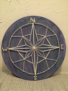 String art compass