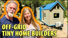 Byron and Dot are the owners of SimBLISSity Tiny Homes, a company that builds high quality tiny houses while being completely off the grid! Located in a beau...