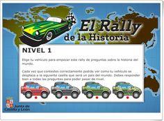 El Rally de la la Historia (Junta de Castilla y León) Rally, Socialism, Baccalaureate, School, Science Area, Interactive Activities, World History, Teaching Resources, Hilarious