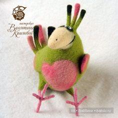 Авторские игрушки Валентины Красновой - валяние из шерсти