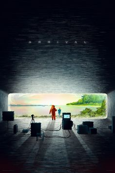 In which Kevin Tong takes on Denis Villeneuve. Arrival Poster, Arrival Movie, Omg Posters, Film Posters, Movie Poster Art, New Poster, Denis Villeneuve, Sci Fi Films, Alternative Movie Posters