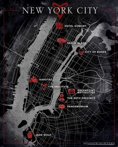 New York City, Shadow style. #ShadowhuntersSeason2