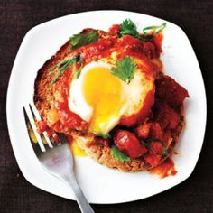 Healthy Breakfast Recipes: Eggs Poached in Curried Tomato Sauce | CookingLight.com