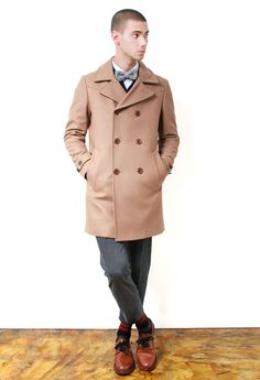 Paul Smith Overcoat Acne Coe O Cardigan Adam Kimmel Bow Tie Boglioli Chino Pants Paul Smith Socks Buttero Derby Shoes