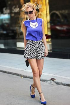 Zig Zag  #lace #short #back #box #box #medium #short