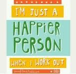 Happier Person when I work out