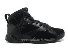 best cheap 561fd ea61f Air Jordan 7 VII Retro 2015 - Baskets Jordan Officiel Pas Cher Chaussure  Nike Pour Homme Noir 304775-010