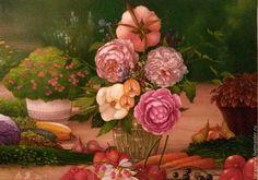 Buy Copyright pattern memories of summer. - green, pink, white, red, yellow
