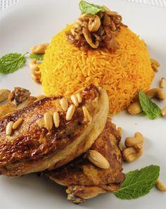 Wonderful Bukhari rice recipe from Saudi Arabia #recipe #food #saudiarabia #middleeast #cooking #chicken #rice #arabic