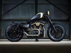 Harley Motorcycle -                                                      Forty-Eight bobber by Maidstone H-D