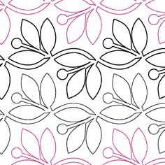 """Hint of Spring - Paper - 7.75"""" - Quilts Complete - Continuous Line Quilting Patterns"""