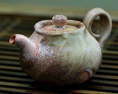 Seong Il (South Korea)  |  Shino & ash glazed teapot.