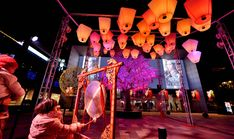 Offer interactivity and one-of-a-kind light installations  #mkillumination #festivelighting #interactivity #oneofakind #lightinstallations #lightart #chinesenewyear