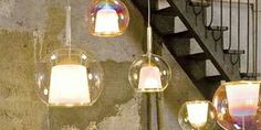 Glo pendant Lamp from Penta Light is a laminar that has chromed metal body structure, and borosilicate glass.  For more information on this Pendant Lamp visit the website.