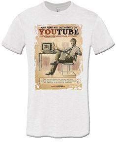 T-shirt YouTube Vintage